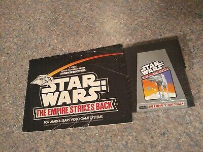 Atari 2600 Star Wars The Empire Strikes Back With Manual