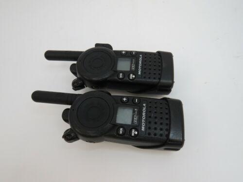 Lot of 2: Motorola CLS1413 Two-way Business Radios