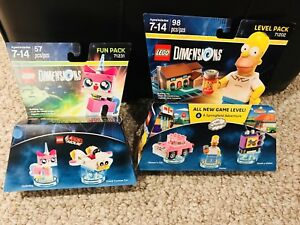 Brand new Dimensions LEGO, $10 for both.