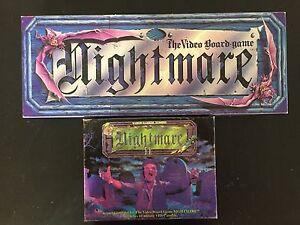Nightmare and Nightmare II Vintage Board Games