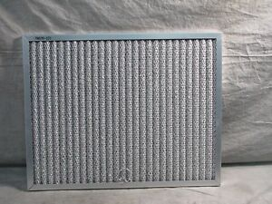 Range hood aluminum mesh grease filter 15 5 8 x 12 3 8 x 1 for Commercial kitchen grease filters
