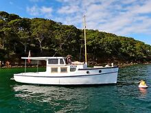 """Virginia"" - Beautiful 29ft Timber (Huon Pine) Boat for Sale Elizabeth Bay Inner Sydney Preview"