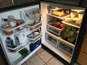 GE  profile Stainless steel  Fridge great condition