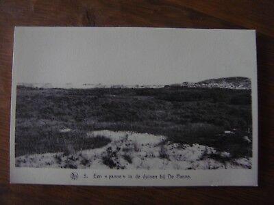 Een panne in de duinen bij DE PANNE ( La Panne )