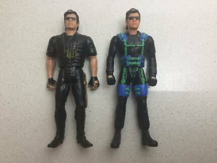 2x Jurassic Park Lost World Ian Malcolm Action Figures Kenner