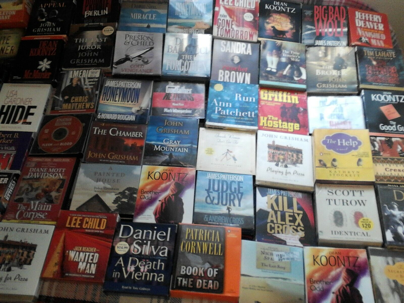 30  Collection Of Audio Books Various To Choose From 10 For 10
