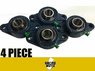 4 Pieces 1 2 Bolt Flange Bearing Ucfl205-16 Ucfl205