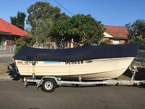 Quntrex 4.5m Fishraider Centre Console for sale