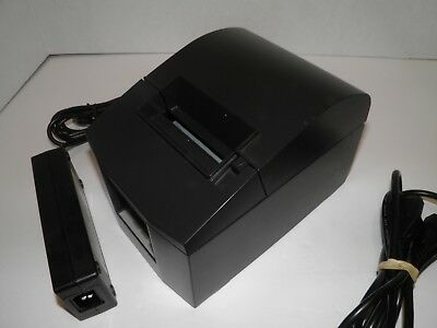 Star Tsp600 643d Thermal Pos Receipt Printer Parallel W Power Supply Tested