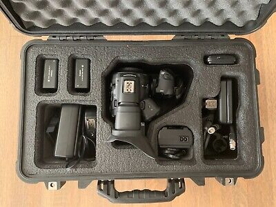 Canon EOS C300 body w/ Custom Case, 213 hrs, EF Mount, 3 batteries, 6 x 32GB CF