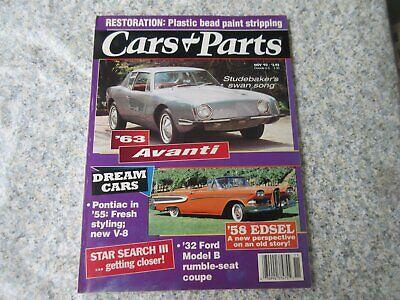Cars & Parts Magazine -Nov 93 - 63 Avanti - 58 Eds
