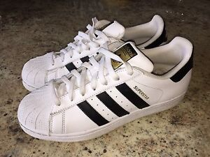 "Brand new adidas ""superstars"""