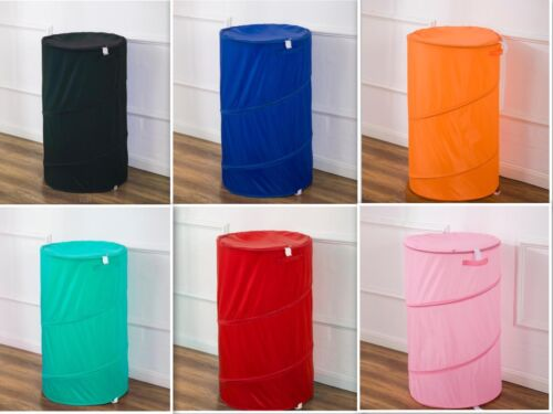 Durable Pop up Laundry Basket Wire Hamper With Zipper Close OVERSTOCK SALE !!!