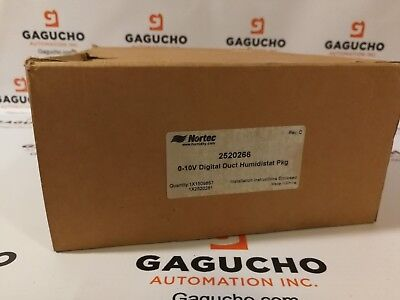New Nortec 252266 Duct Mount Humidistat New In Box 252-0266 Ready To Ship
