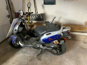 PGO naked scooter
