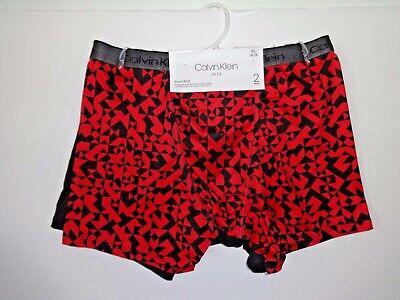 Calvin Klein boys AIR FX boxer briefs 2 pair size XL 16/18