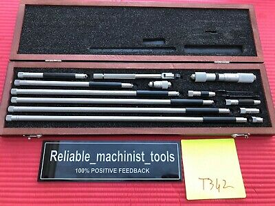 Starrett Tubular Inside Micrometer Model 823f Range 1.5-32 Machinist Toolst342