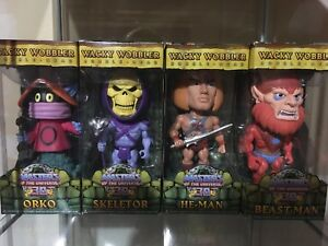 Funko Bobblehead Masters of the universe Lot of 4
