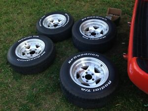 American racing rims and tires