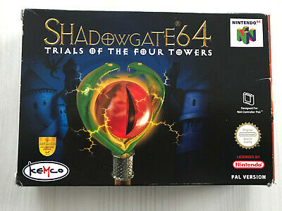SHADOWGATE 64 TRIALS OF THE FOUR TOWERS PAL NINTENDO 64 N64 FRA/DE COMPLET