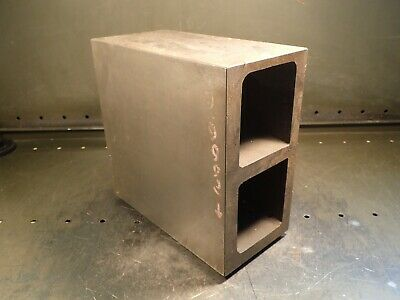 10 X 10 X 5 Machinist Mill Set-up Inspection Footed Hollow Box Parallel Used