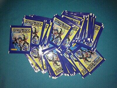 LOT de 10 pochettes packets = 50 stickers Autocollant - Beyblade Burst - PANINI