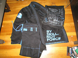 inverted gear raw panda gi kimono a3l bjj jiu jitsu shoyoroll atama koral ebay