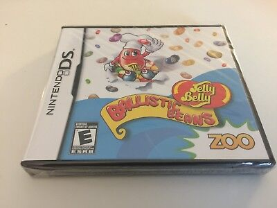 Jelly Belly Ballistic Beans (Nintendo DS, 2009) DS NEW
