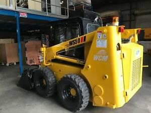 WCM skid steer loader WS50 with Perkins, Danfoss pump Maddington Gosnells Area Preview