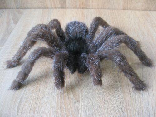 """Aragog 9"""" Plush Spider Fake Fur Tarantula Realistic Insect Prank Monster"""