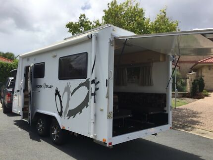 2011 Jayco Work n Play with shower & toilet. PRICE REDUCED
