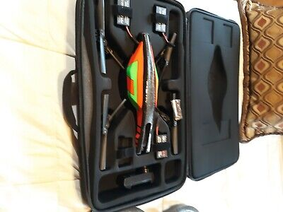 Parrot AR Drone 2.0 w/Extra Parts, Accessories, Mount for GoPro, hard case.