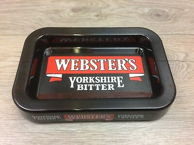 Yorkshire Bitter - Vintage Websters Yorkshire Bitter Praesidium Melamine Rectangular Ashtray