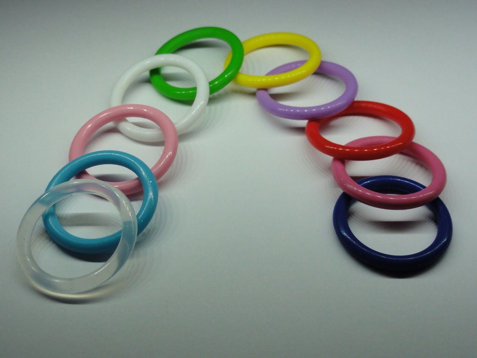 Silikonring - Gummiring für Schnullerkette - Schnuller ohne Ring z.b Mam NEU