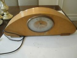 Westminster Chime Electric Wood Mantle Clock  Revere R-941 WORKS
