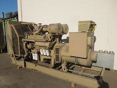 Cummins 500kw625kva 480277 Volts 3ph Standby Diesel Ac Generator Set Used