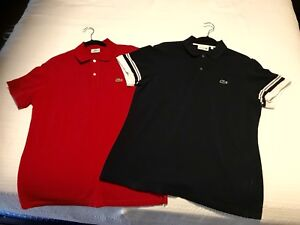 Lacoste Polo's - New Collection - 1/2 price