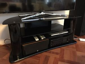 TV stand/cabinet in piano black Chatswood Willoughby Area Preview