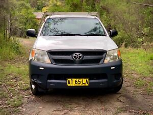 2007 Toyota Hilux manual workmate great condition Asquith Hornsby Area Preview