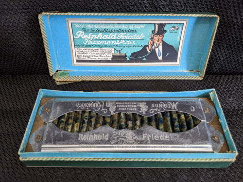 Reinhold Friedel Mignon Harmonica Made In Germany As War Reparation To Poland