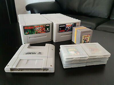 SNES Super Nintendo and Gameboy Videogame Collection / Super Gameboy / 38 Games! for sale  Shipping to Nigeria