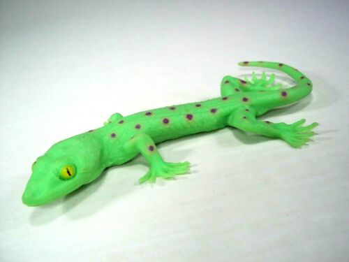 Rare Vintage 1995 Realistic Gecko Figure Reptile Replica Lizard Toy Creature HTF