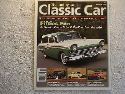 Cadillac Classic Car - Classic Car 2004 November Ford Pontiac Henry J Chevrolet Buick Cadillac Olds