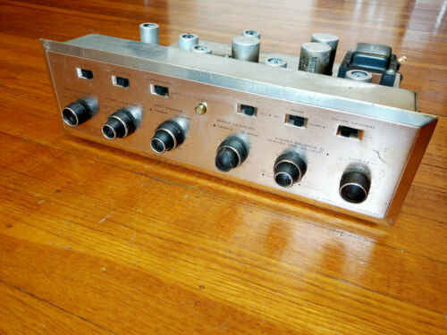 H. H. Scott LC-21 Tube Stereo Preamplifier, All Vintage Tubes - Works Great