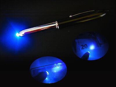 ber Geheimstift Geldscheinprüfer LED Schwarzlicht Pen Lampe (Schwarzlicht Stift)