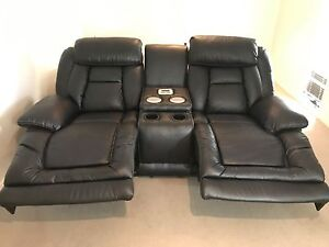 Electric Reclining Leather Couches Robina Gold Coast South Preview