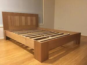 Local made Solid Wood Tas Oak Bed (King, Queen, Double, Single) Cleveland Redland Area Preview