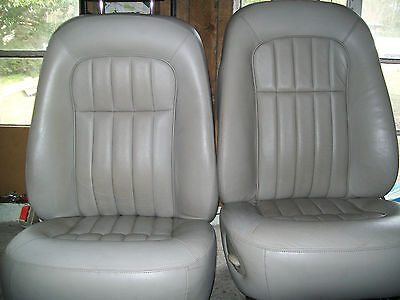 jaguar xj6 x300 leather seats AGD oatmeal front and rear interior