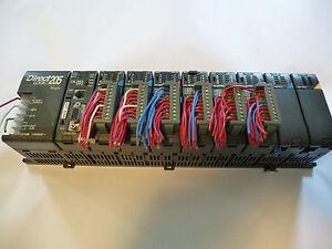 Koyo Direct Logic 205 PLC Automation Direct w/8-Slot Expansion Rack, with module