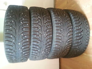 New studded  Nordman winter tires for sale 16in
